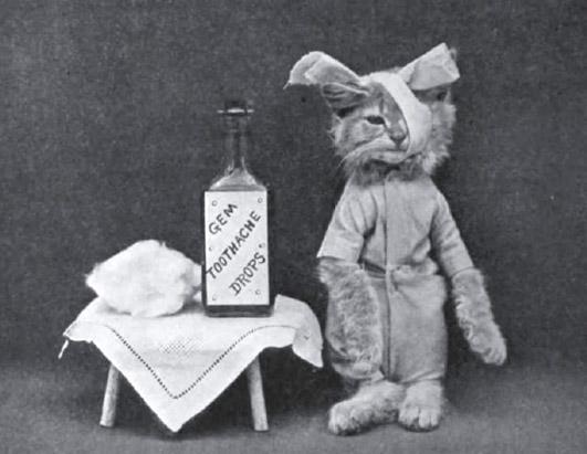 Винтажные коты больной фотоколлаж