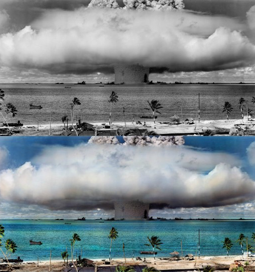 Operations-Cross-Road-Baker-at-the-Bikini-Atoll-520x546