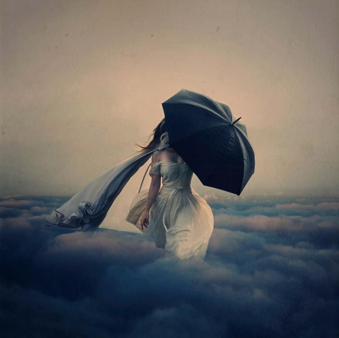 Буря над облаками, Brooke Shaden фотограф-коллажист