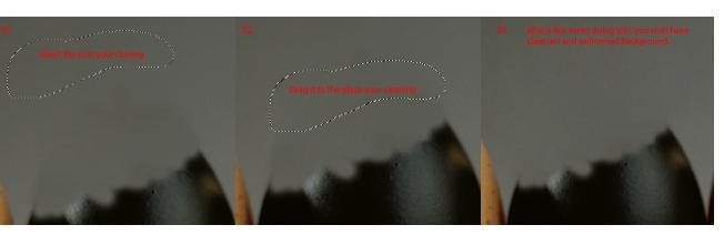 Коррекция яйца инструментом штампа фотошоп
