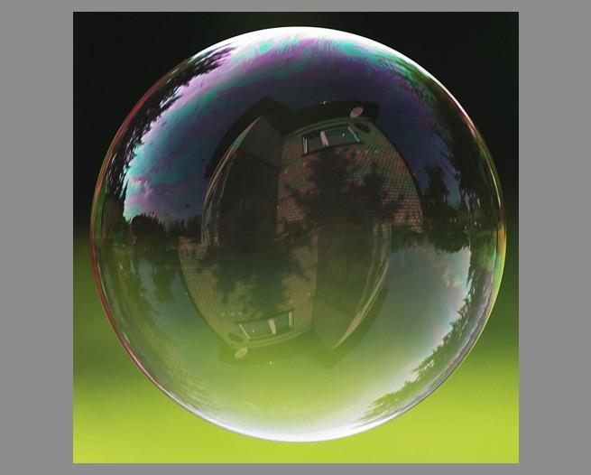 Мыльный пузырь фотошоп
