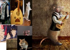 Фотоколлаж мышь обучение фотошопу
