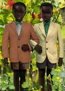 Рууд Ван Эмпл фотоколлаж двое в пиджаках