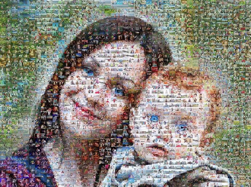 Идеи фотоколлажа мама и ребенок