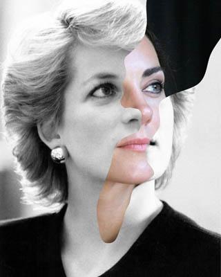 Совмещение портретов фотоколлаж двух лиц