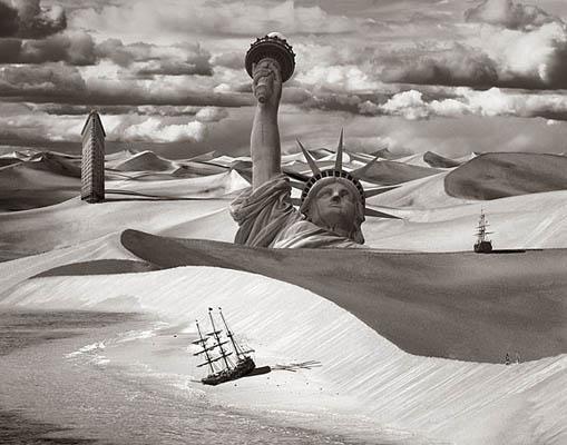 Фотоколлаж Томаса Барбе Америка