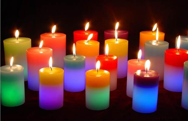 Как сделать жизнь яркой свечи