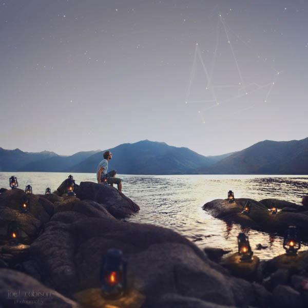 Фэнтези фотографии озеро
