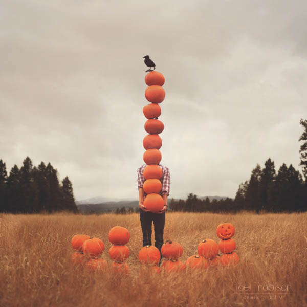 Фэнтези фотографии тыквы