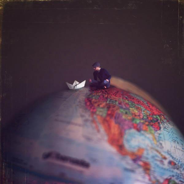 Фэнтези фотографии вершина мира