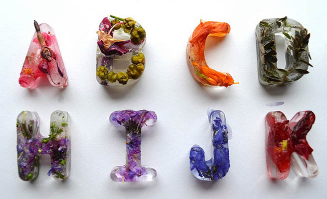 Ледяной алфавит фотоколлаж Петра Благова