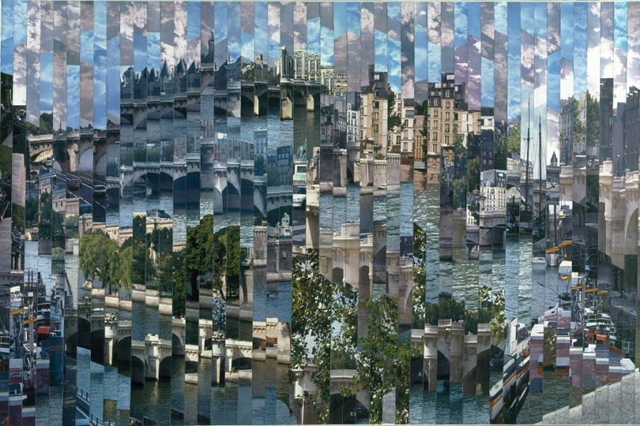 Фотоколлажи городов Нью-Йорг канал Серж Менджийский