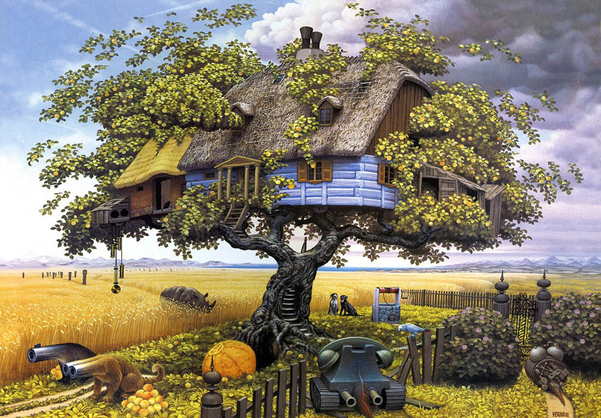 Яцек Йерка волшебное дерево