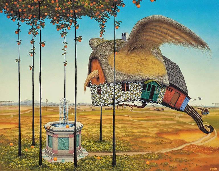 Яцек Йерка летающий дом