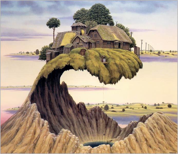 Яцек Йерка дом над кратером