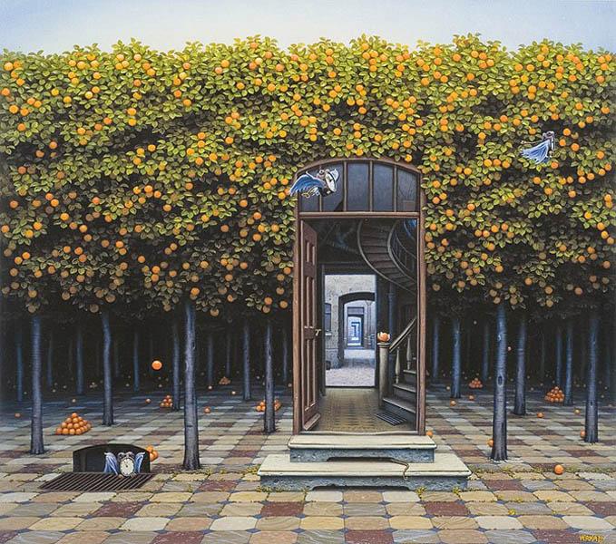 Яцек Йерка апельсиновый сад