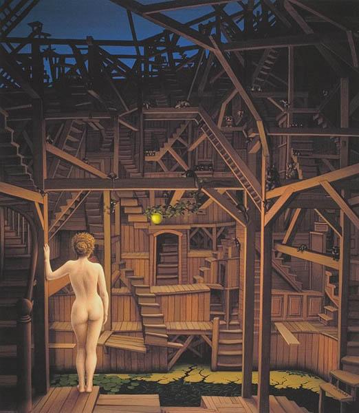 Яцек Йерка ночная лестница