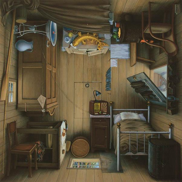 Яцек Йерка странная комната